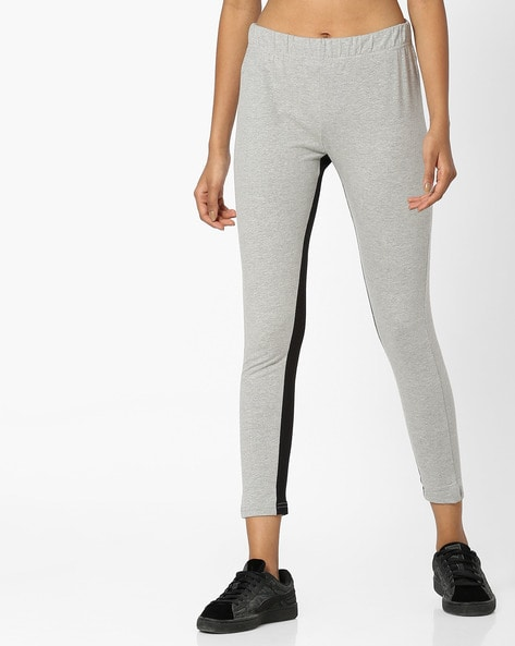 06b616e14669 Buy Grey Melange Track Pants for Women by Teamspirit Online
