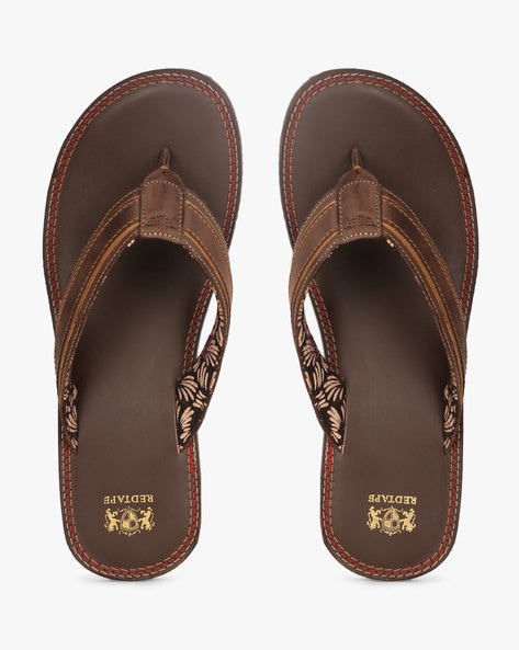 39ccce98b99e Buy Tan Flip Flop   Slippers for Men by RED TAPE Online