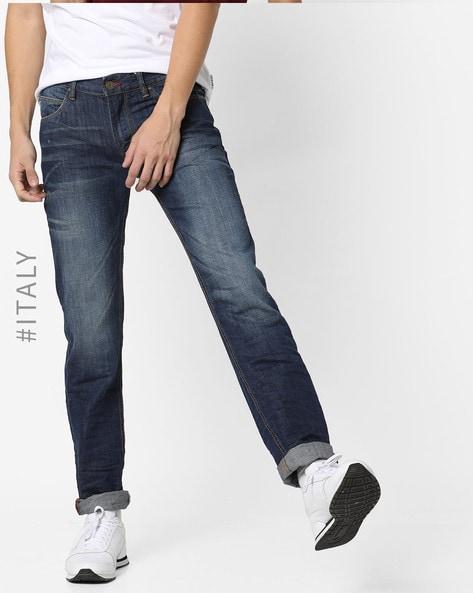 e445c662ef Buy Blue Jeans for Men by ALCOTT Online   Ajio.com