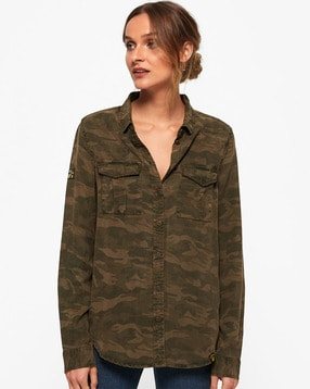 3fbe1d0c4ba Buy Multicoloured Shirts for Women by SUPERDRY Online
