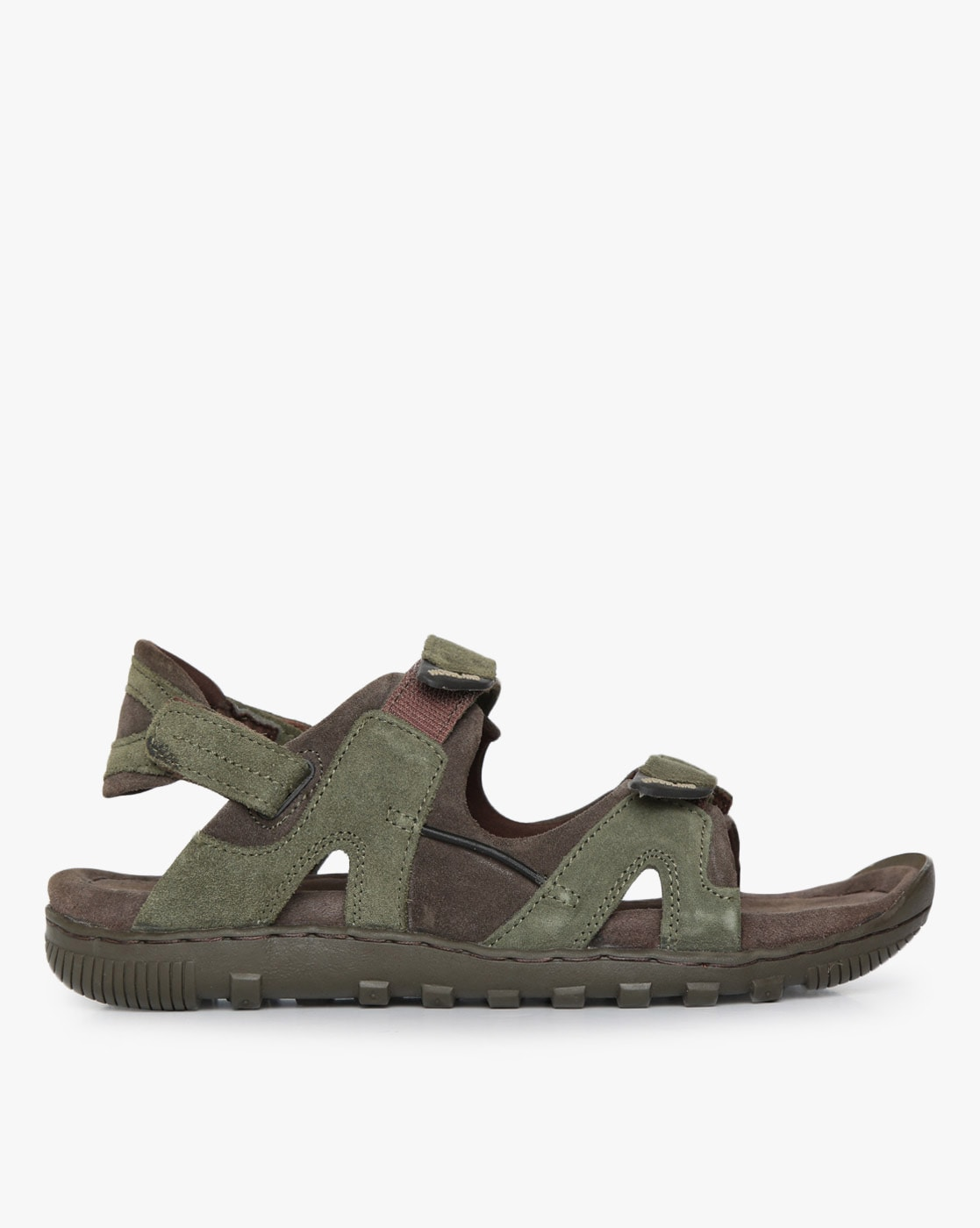 Buy Olive Green Casual Sandals for Men
