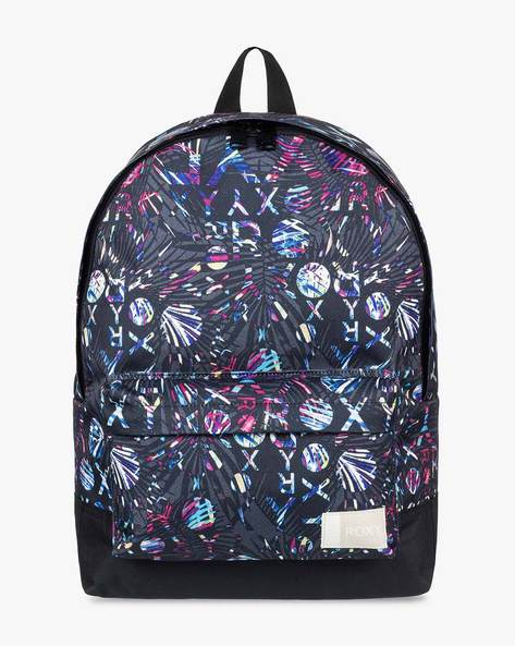 Printed Backpack With Adjustable Straps By ROXY ( Kpg6 )