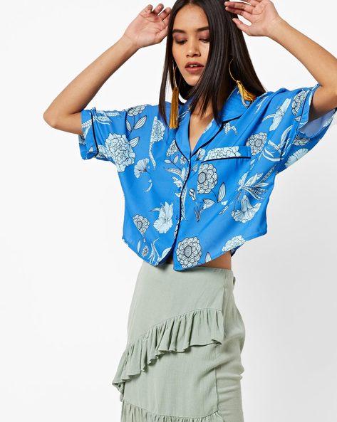 cadb61a291781e Women's Shirts online. Buy Women's Shirts online in India. – Ajio