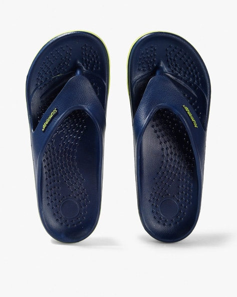 de3df33ed Buy Navy Blue Flip Flop   Slippers for Men by Sole Threads Online ...