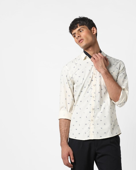 7dc4cbc945d8 Buy Off-white Shirts for Men by WRANGLER Online