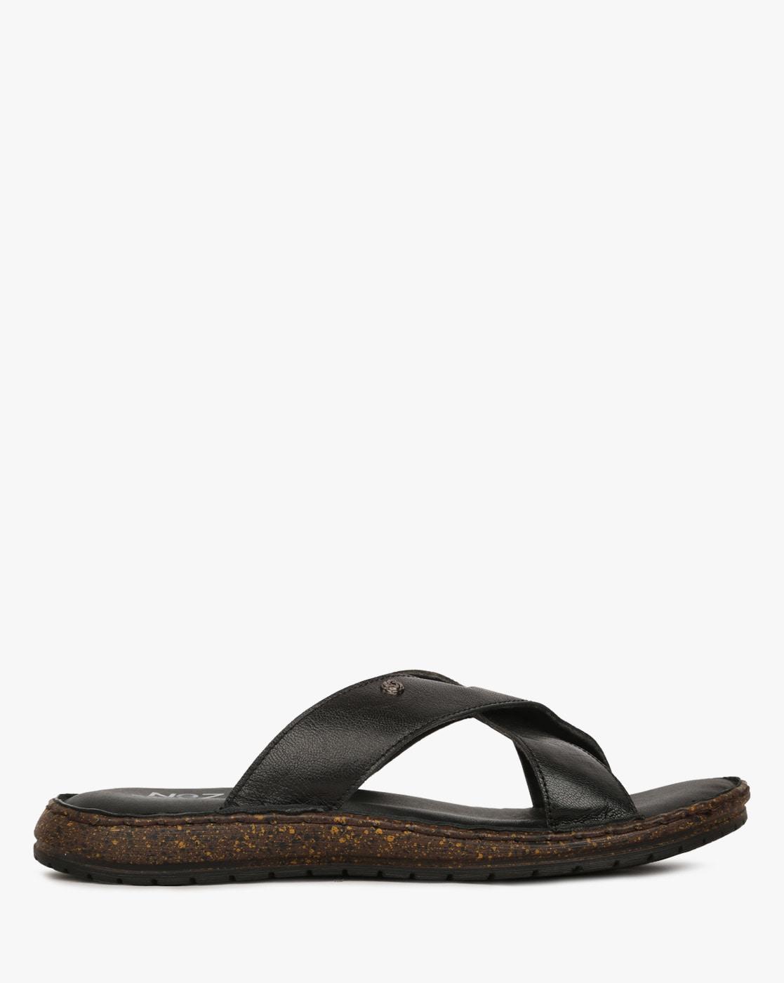 83f11d09b48d Buy Black Sandals for Men by NEZ Online